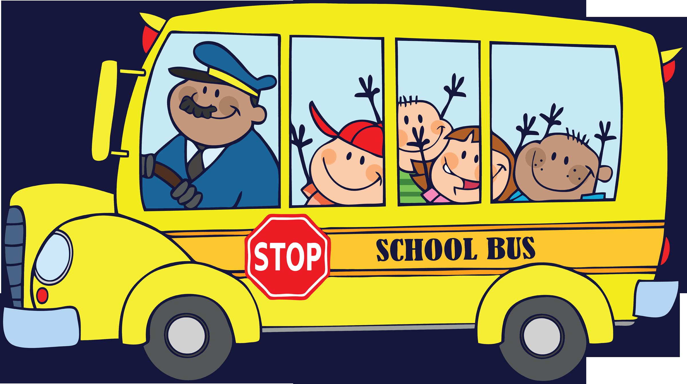 pictures-of-cartoon-school-buses